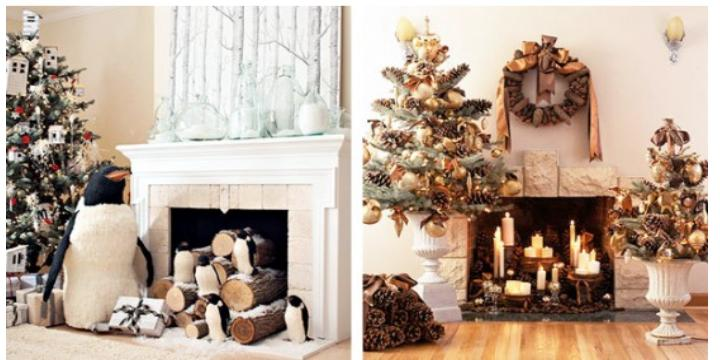 Decorating Inside Fireplace With Candles - Best Image Voixmag.Com